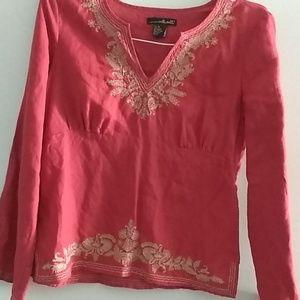 Willi Smith blouse size M 100%linnen